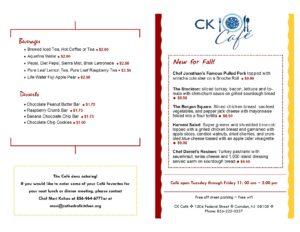 CK Cafe\\\\\\\\\\\\\\\\\\\\\\\\\\\\\\\\\\\\\\\\\\\\\\\\\' Menu